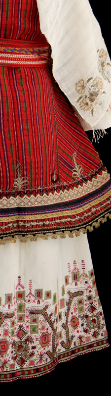 Macedonian Embroidered Dress